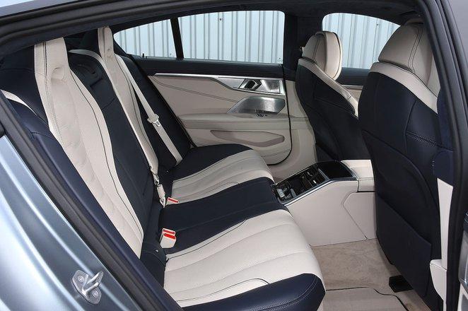 BMW 8 Series Gran Coupé 2020 RHD rear seats