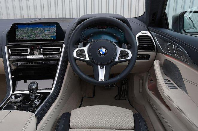 BMW 8 Series Gran Coupé 2020 RHD dashboard