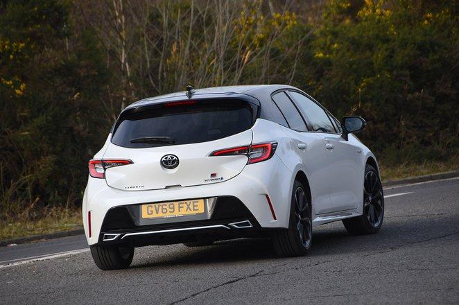 Toyota Corolla GR 2020 rear tracking