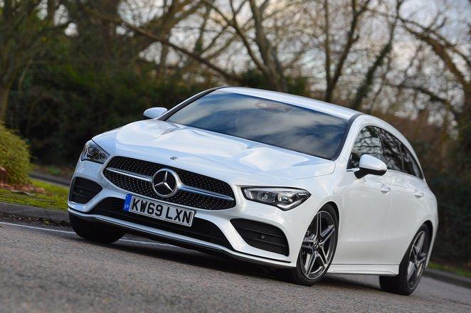 Mercedes CLA 2020 RHD front tracking