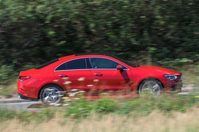 Mercedes CLA 2020 RHD right panning