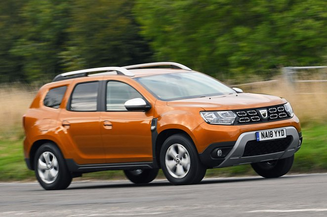 Dacia Duster front corner