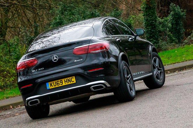 Mercedes-Benz GLC 2021 RHD rear right tracking