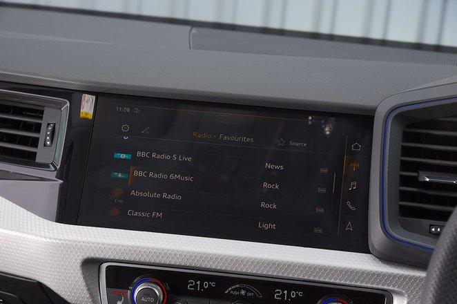 Audi A1 2021 RHD infotainment