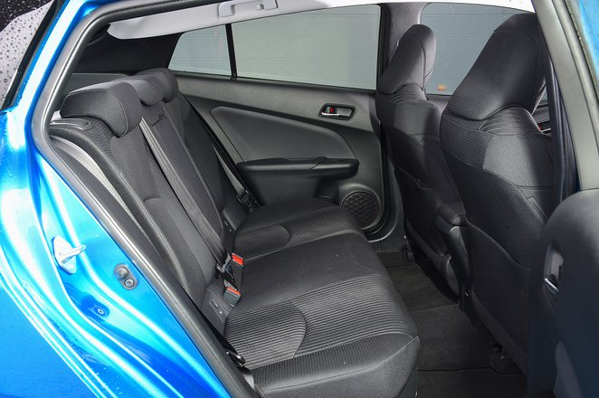 Toyota Prius 2020 RHD rear seats