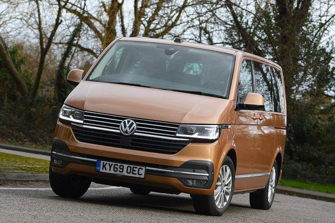Volkswagen Caravelle 2020 RHD front tracking