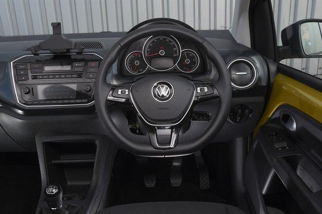 Volkswagen Up 2020 RHD dashboard