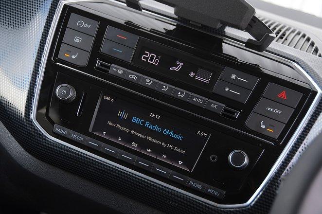 Volkswagen Up 2020 RHD infotainment