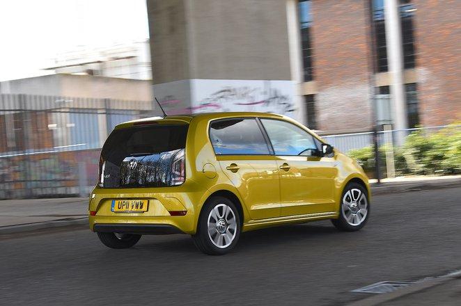 Volkswagen Up 2020 RHD rear tracking