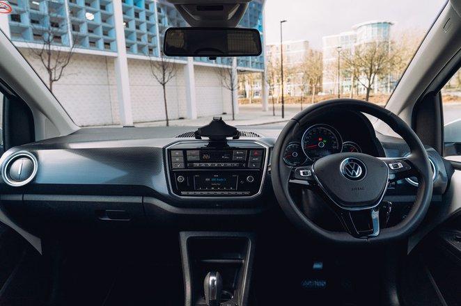 Volkswagen e-Up 2020 RHD dashboard