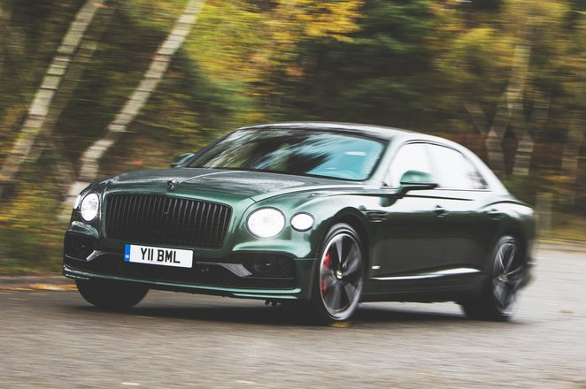 2020 Bentley Flying Spur front
