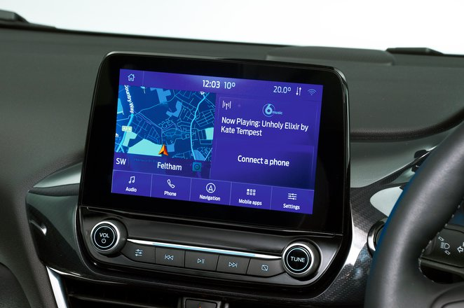 Ford Puma 2021 infotainment