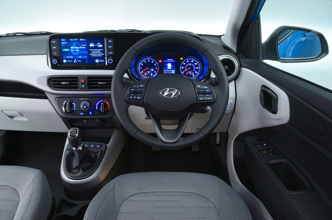 Hyundai i10 dashboard - 69-plate car