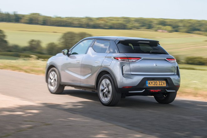 2020 DS 3 Crossback E-Tense rear