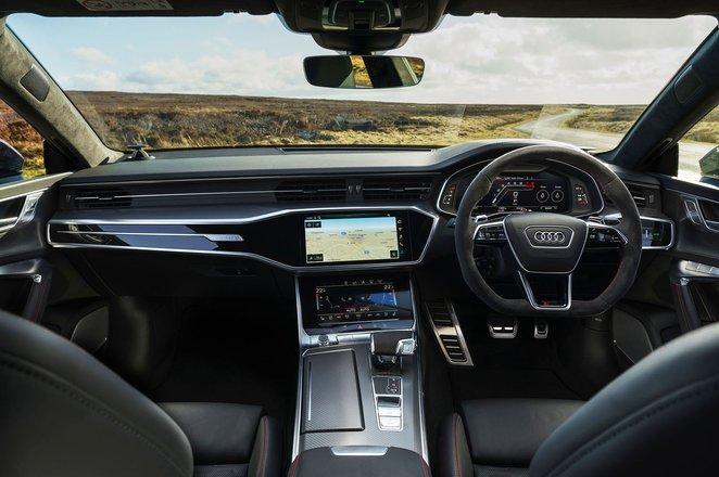 2020 Audi RS7 Sportback dashboard