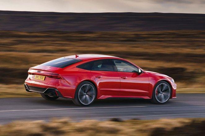2020 Audi RS7 Sportback driving past