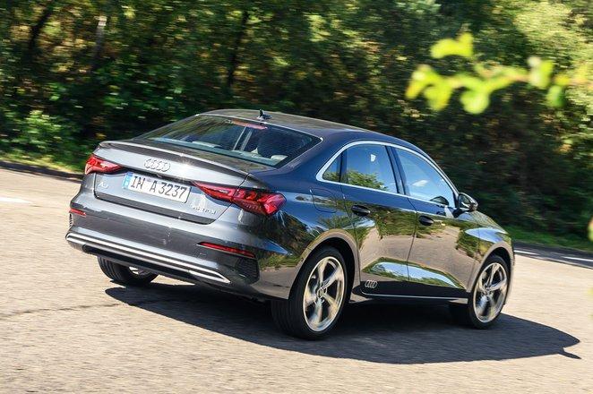 Audi A3 Saloon 2020 rear cornering