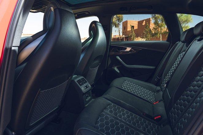 Audi RS4 Avant 2020 RHD rear seats
