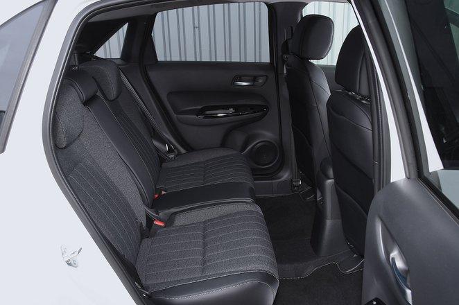 Honda Jazz 2021 rear seats