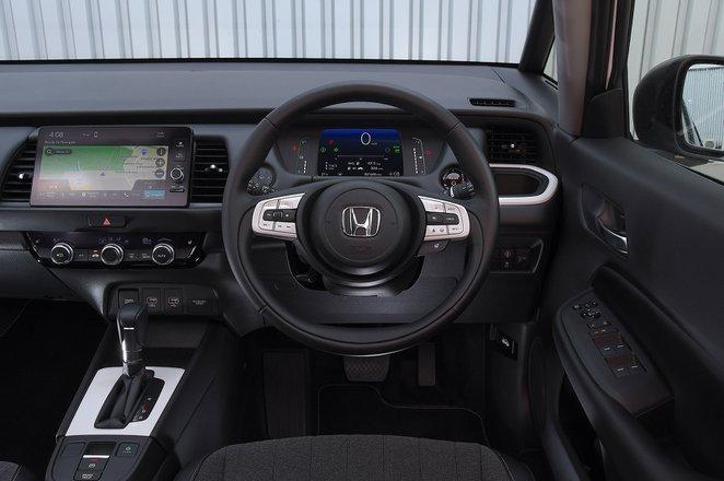 Honda Jazz 2021 RHD dashboard