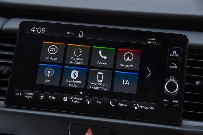 Honda Jazz 2021 RHD infotainment