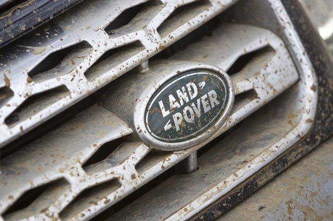 Land Rover Freelander muddy badge