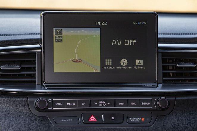 Kia Ceed Sportswagon 2020 infotainment