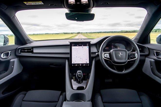 Polestar 2 dashboard - 2020 car