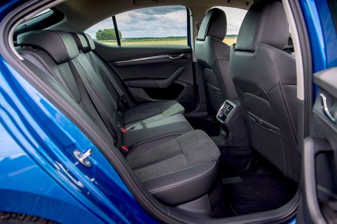 Skoda Octavia hatchback 2020 rear seats