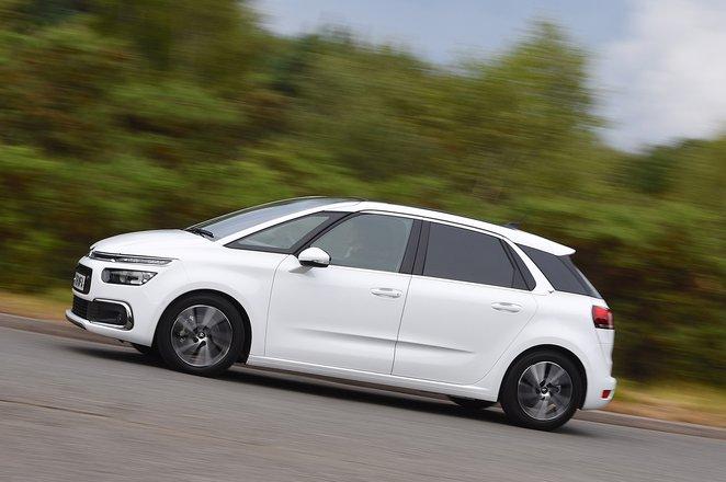 Citroën C4 Spacetourer side profile