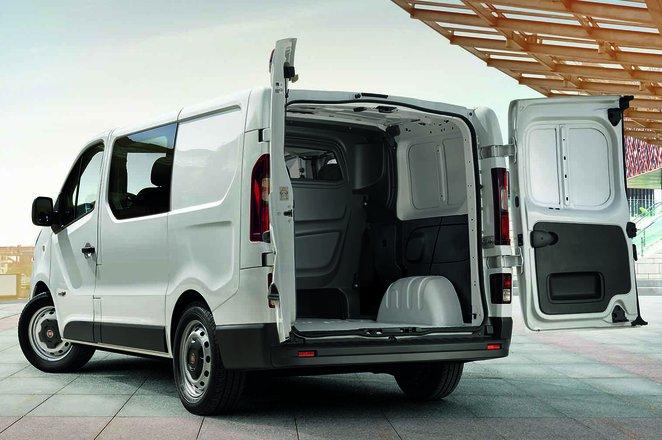 Fiat Talento load space