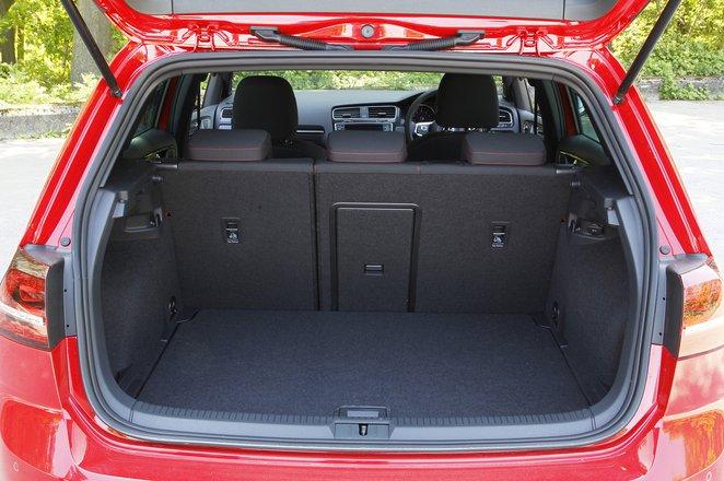 Volkswagen Golf GTI 2013-2019 boot