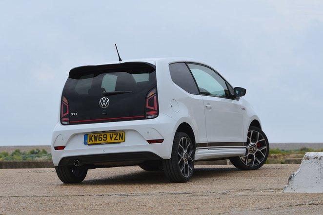 Volkswagen Up GTI 2020 rear cornering