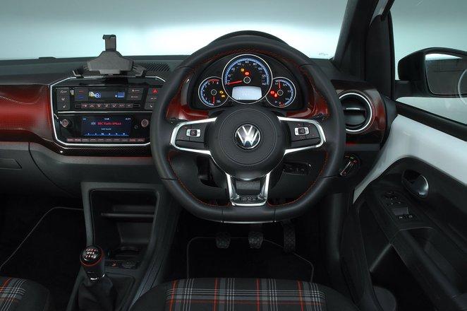 Volkswagen Up GTI 2020 RHD dashboard