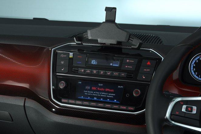 Volkswagen Up GTI 2020 RHD infotainment