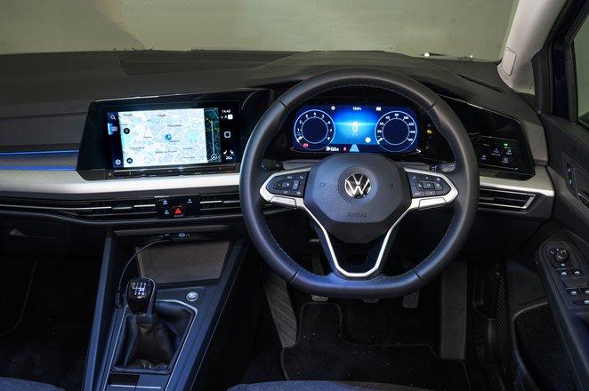2020 Volkswagen Golf dashboard
