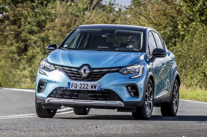 Renault Captur 2020 front cornering