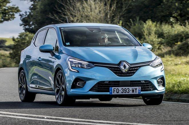 Renault Clio 2020 front cornering