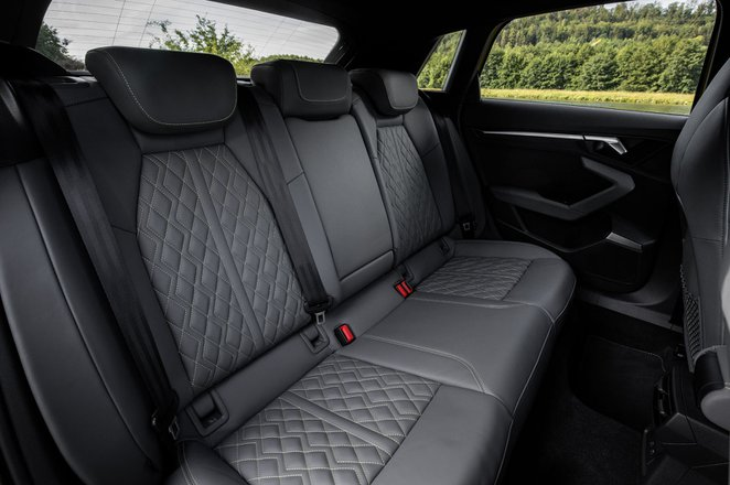 Audi S3 2020 rear seats