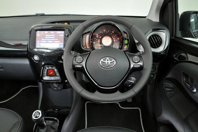Toyota Aygo 2014-present interior