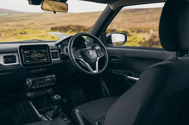 Suzuki Ignis 2021 dashboard