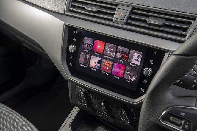 Seat Ibiza 2020 infotainment