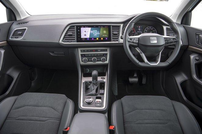 Seat Ateca 2021 dashboard