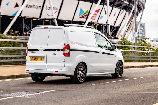 Ford Transit Courier van rear