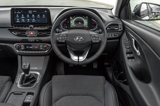 Hyundai i30 hatchback 2020 dashboard