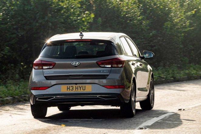 Hyundai i30 2020 rear