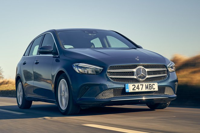 Mercedes B-Class MPV 2020 front tracking