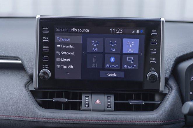 Suzuki Across PHEV 2020 infotainment