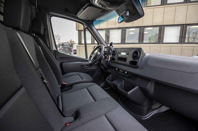 Mercedes eSprinter interior