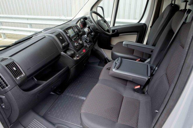 2020 Peugeot Boxer interior